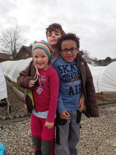 Fotochallange Kinder in Jacke