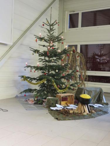 geschmückter Tannenbaum