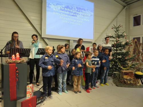 singen Gottesdienst